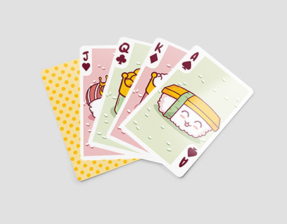 Deck of Cards : Sushi Edition