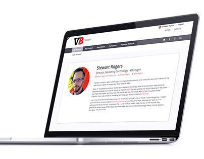 VentureBeat // User Accounts