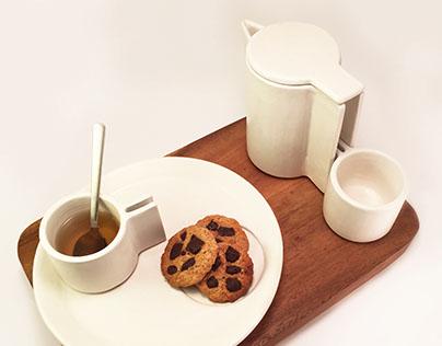 ceramics  TEA SERVICE