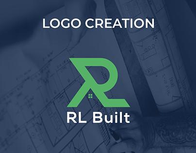 RL Built Logo Design