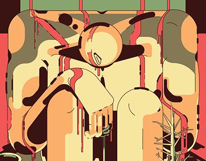 Camino Rojo Bienal Ilustración