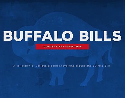 Buffalo Bills Concept Art Direction