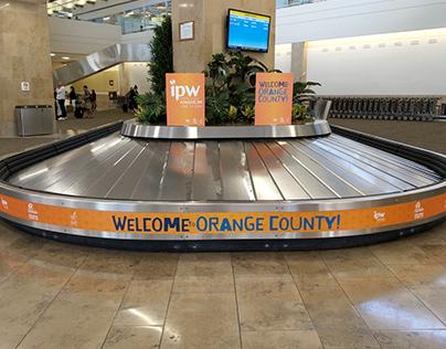 IPW 2019 Welcome graphics, John Wayne Airport