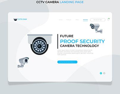 CCTV CAMERA LANDING PAGE