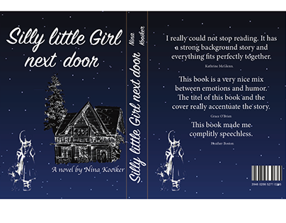 Book Cover, Silly little girl next door.
