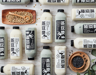 Package Design | 蒸豆漿 CHENG TOU CHIANG