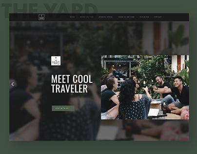 The Yard Hostel Bangkok Website