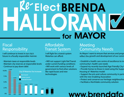 Mayor of Waterloo, Brenda Halloran