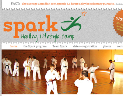 Spark Healthy Lifestyle Camp