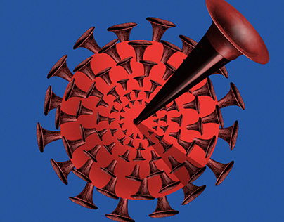 Draw life under coronavirus, POLITICO Europe, Magazine.