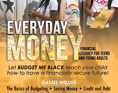 Flyer - Budget Me Black