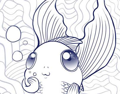 金鱼-輕插画日誌 My Journal_fishyee