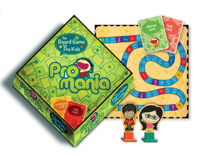 ProMania : an educational board game for kids!