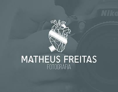 Matheus Freitas - Fotografia - Logo