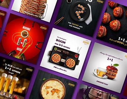 Gourmet Passport | Social Media