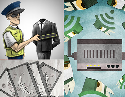 .Seguridad Information Security Magazine Illustration