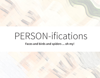 April challenge: PERSON-ifications