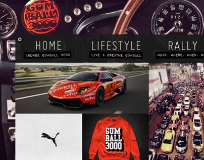 New Gumball3000 Website