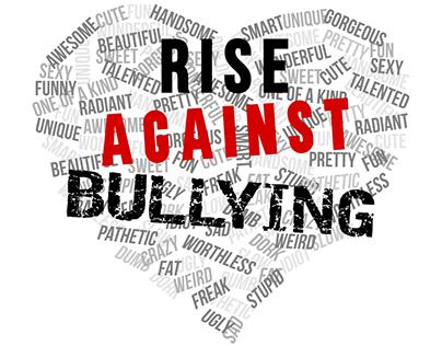 Logo Design For Rise Against Bullying