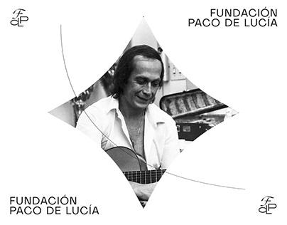 Fundación Paco de Lucía branding concept