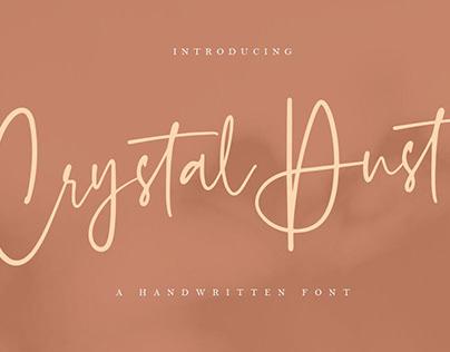 Crystal Dust - Handwritten Font