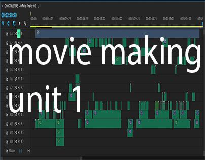 movie making unit 1