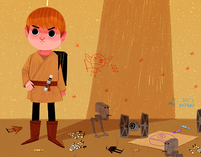 Star Wars - The Child Who Will Be A Man // Illustratıon