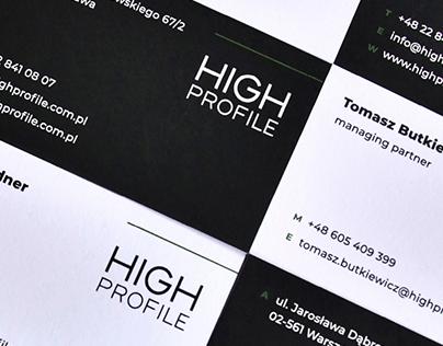 HP | visual identity, web design