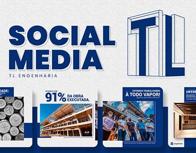 Social Media - TL Engenharia