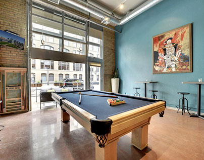 North Loop loft Interior Design