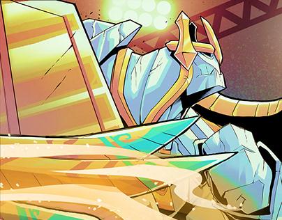 Rift Rivals Promo Illustration