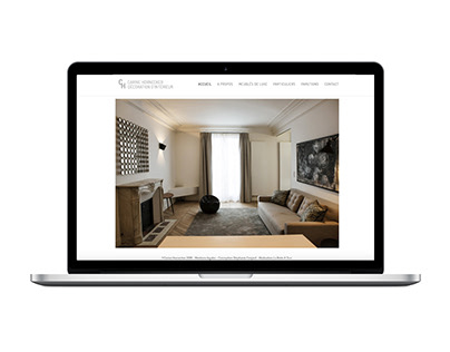 CH Interior Design / Identity and website design