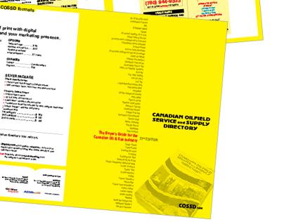 Canadian Oilfield Service + Supply Directory Media Kit