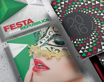 Italian Consulate gala program cover exploration