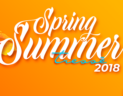 Campanha Primavera Verão 2019 Loja Tressê