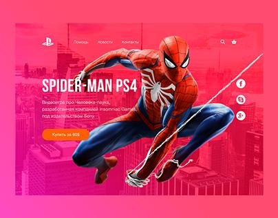 Spider Man PS4 / Design UI/UX