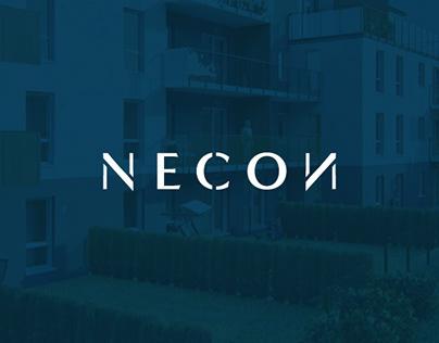 NECON   logo & corporate identity