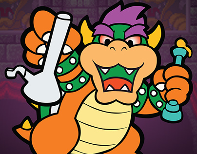 Dabbed Out Bowser
