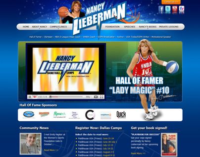 Nancy Lieberman Website