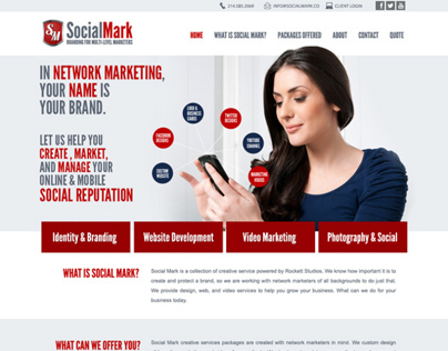 Social Mark Web Design