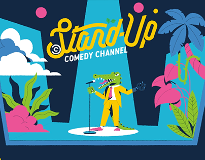 Stand-Up Bumper - Comedy Central
