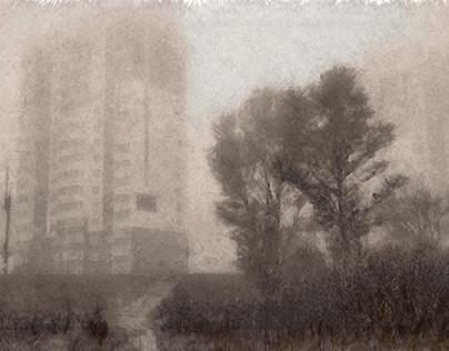 Fog in a new neighborhood