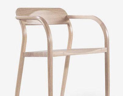 Curvas dining chair