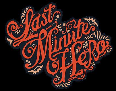 Last Minute Hero Band Logo