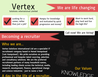 Why you should work at Vertex...