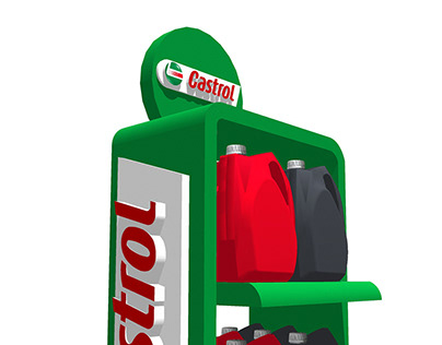 Castrol - Exhibition Retail - 3D