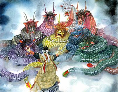 Hiroshima's Kagura Dance Performers