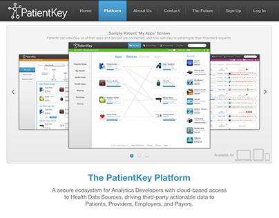PatientKey UI/UX