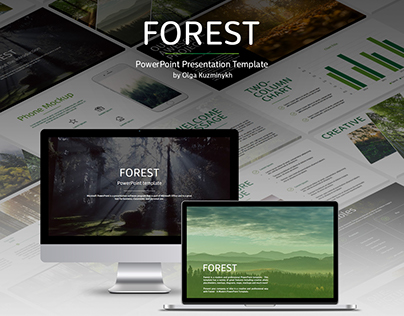 Forest - PowerPoint beautiful template