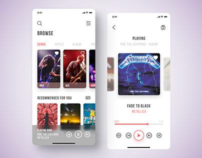 Sufflefy - Music App
